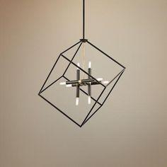 "Kichler Cartone 25 1/2"" Wide Olde Bronze Pendant Light"