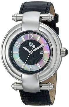 Para mujer Brillier 31-01 Klassique pantalla analógico de cuarzo reloj de Hombre de estilo