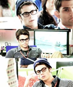 Dylan O'Brien... glasses make him so much more attractive