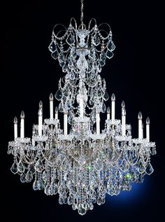 Buy the Schonbek Black Pearl Direct. Shop for the Schonbek Black Pearl Wide 24 Light Candle Style Chandelier from the New Orleans Collection and save. Chandelier Art, Crystal Chandelier Lighting, Antique Chandelier, Luz Artificial, Tiffany Lamps, Large Crystals, Beautiful Lights, Candlesticks, Decoration