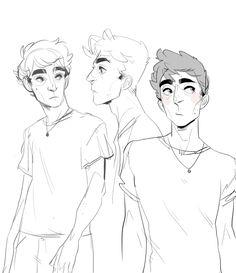 batcii . Character Sketch / Drawing