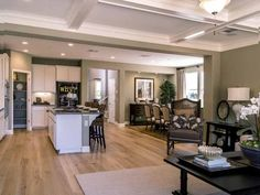Plan 3 Great Room - Wildhawk Landing, Sacramento, CA Sacramento, Great Rooms, Landing, Kitchen Island, How To Plan, Home Decor, Island Kitchen, Decoration Home, Room Decor