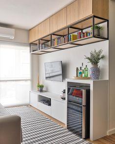 Nichos para sala: 60 ideias para organizar o espaço e onde comprar Furniture, House Design, Room Design, Interior, Home, House Interior, Dorm Room Decor, Furniture Design, Living Room Designs