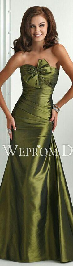 Olive Prom/Bridesmaids Dress