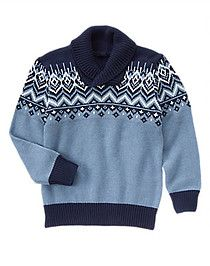 Gymboree Fair Isle Sweater $36.50