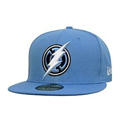 c75c6af5741 Blue Lantern Flash Logo 59Fifty Fitted Hat Review Blue Lantern