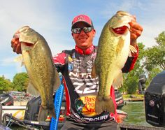 KVD at day 1 Cayuga- 11th place with 20lbs today- June 23,2016