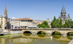 Balade commentée sur l'historie du Metz Médiévalpour 2 ou 4 personnes dès 9 € avec André Baheux: #METZ 9.00€ au lieu de 18.00€ (50% de…