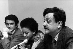 Jerzy Kosinski, Nikki Giovanni and Kurt Vonnegut