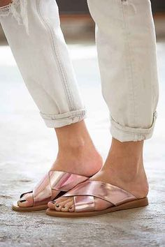 Jeffrey Campbell Caprese Cross-Strap Sandal