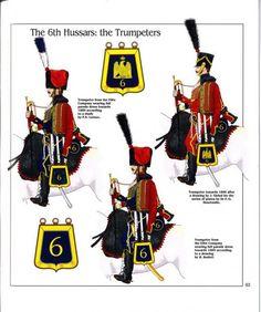 Trombe del 6 rgt. ussari, 1806 -1809