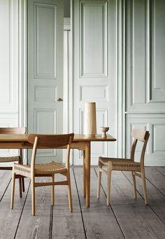 Hans J. Wegner's CH23 dining chair for Carl Hansen & Son | New furniture & homeware finds | February 2017