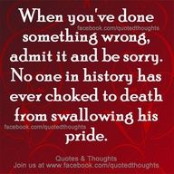 Life without pride