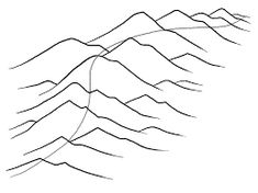 HOW TO DRAW mountains - Google Search Mountain Drawing, Mountains, Google Search, Drawings, Mountain Paintings, Sketches, Drawing, Portrait, Draw