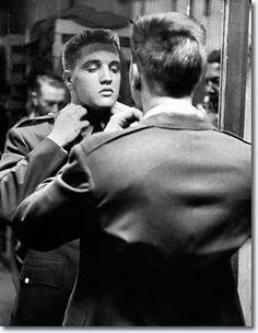Elvis Presley At Fort Chaffee