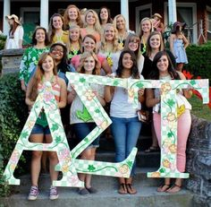 Alpha Lambda!!!!!!! Radford University  EPSILON DELTAS - my little princess is in this picture <3