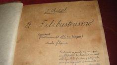 El Filibusterismo by Jose Rizal El Filibusterismo, Jose Rizal, Freemasonry, Happy Life, Philippines, Countries, Love Her, Geek, Thoughts
