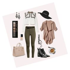 """""""Untitled #61"""" by clara-prieto-puigmarti on Polyvore featuring Yves Saint Laurent, H&M, Isabel Marant, Acne Studios, Topshop, Lowie, Natasha Accessories, Forever 21, Chanel and women's clothing"""