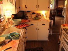 Alicia Paulson's lovely, warm kitchen ~ Posie Gets Cozy