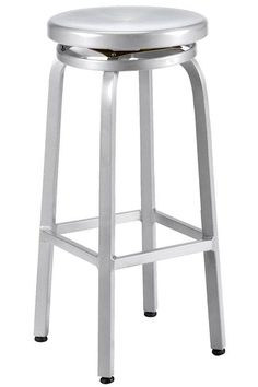 I think this is the one. Aimee thinks the swivel is useful. Its nice and the price is right. Melanie Swivel Bar Stool - Kitchen Stools - Bar Stools | HomeDecorators.com