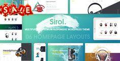 cool Sirol - Headphone Digital Accessories WordPress Theme (WooCommerce)