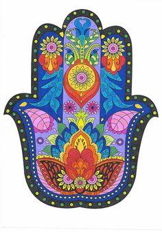 Hamsa Jewelry, Hippie Jewelry, Yoga Jewelry, Hamsa Art, Hamsa Design, Pop Art, Little Buddha, Steam Punk Jewelry, Wood Painting Art