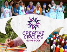 I created my Creative Circles Guidebook to help women feel empowered in confidant in hosting their own creative circles around their passion and love! Come check it out! Creative Circle, Great Websites, Art N Craft, Guide Book, Footprints, The Creator, Cool Art, Crafts For Kids, Blog