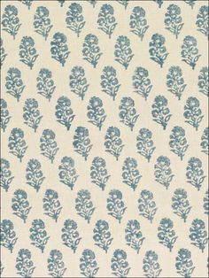 Ralph Lauren Fabric, Chambray Fabric, Hanging Pendants, Fabric Wallpaper, Guest Bath, Color Patterns, Prints, Image, Larger