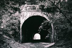 Moonville tunnel, Hocking Hills, Ohio