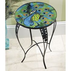Imperial Peacock Table - Furniture, Home Decor and Home Furnishings, Home Accessories and Gifts | Expressions
