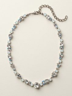 Classic Clover Necklace in White Bridal by Sorrelli - $210.00 (http://www.sorrelli.com/products/NCD2ASWBR)