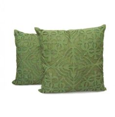 Apply a  wonderful green cushion cover with handirunch at best price. Get 25% discount , apply a coupon code<CVR25>.