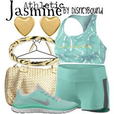 athletic jasmine by disney bound possible 5k outfit?!?