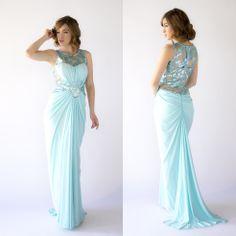 we love it    modelo 0720134 color menta  me encanta!!!!  prepárate para triunfar en los días de bodas y fiestas  #party #dress #MaxiDress #summer #shop #love #flores