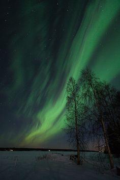 The brightest northern lights I have ever seen, via Flickr.