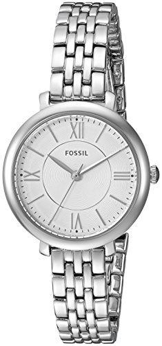 Fossil Womens ES3797 Jacqueline Stainless Steel Bracelet Watch ** Want additional info? Click on the image.