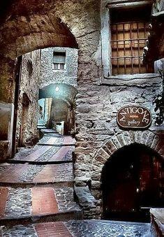 Medieval village of Dolceaqua, Italy