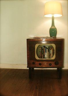 TV Bookcase