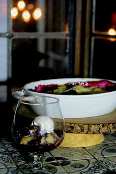 Port Wine Blackberry Cobbler