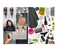 """"""""""" let me lay you down , tell me how does it sound to you , let me freak you , oh i need you . """" -- jas'marie"""" by f-lowerg-awdesses ❤ liked on Polyvore featuring MAC Cosmetics, Allurez, Topshop, Urbanears, Goldgenie, Michael Kors, Timberland, NARS Cosmetics, Maybelline and Tweezerman"""