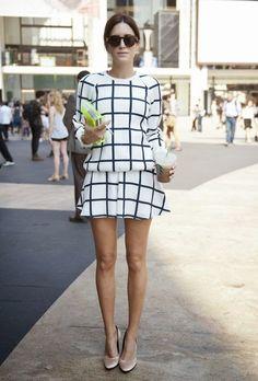 checkered matchy prints