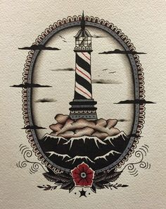 Light house tattoo                                                                                                                                                      More