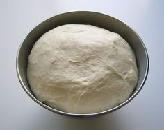 Arabic/Middle Eastern Pastry Dough - can be used to make flat pizza style dishes or can be used to make manakish, spinach pies, etc. Can be frozen in a plastic bag for later use.