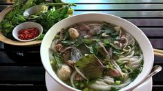 Phở – moderne Brühe mit Tradition *** Suppe mit Entwicklungs-Potenzial