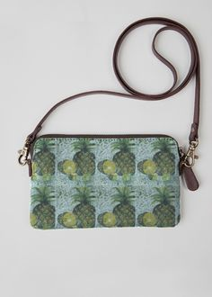 View Statement Clutch - PINEAPPLES