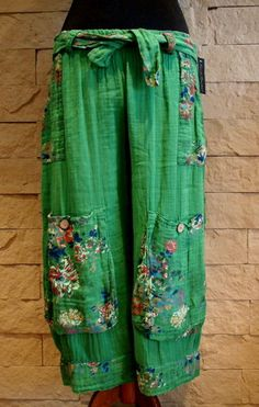 Sarah Santos Lagenlook Exclusive Collection Bloomers Trousers s M L | eBay