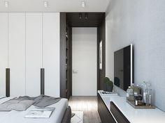INSIGHT-STUDIO | Дизайн проект квартиры-студии в современном стиле в Минске