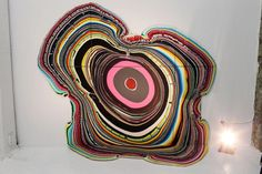 Holton Rower Pours Psychedelic Blooms: ...maybe an idea for mandalas??