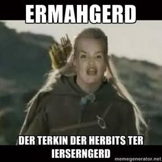 just because of ermahgerd lol Ill Never Forget You, Lol, I Love To Laugh, Laughing So Hard, Just For Laughs, The Hobbit, Laugh Out Loud, The Funny, I Laughed