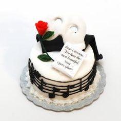 Phantom of the Opera Cake | Stewart Dollhouse Creations